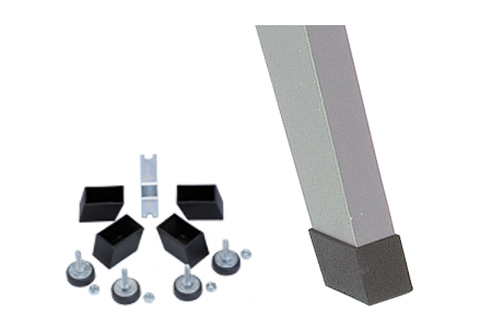 Silber inkl. Höhenverstellset